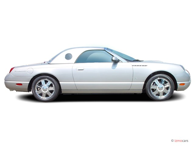 2005 Ford Thunderbird 2-door Convertible Deluxe Side Exterior View