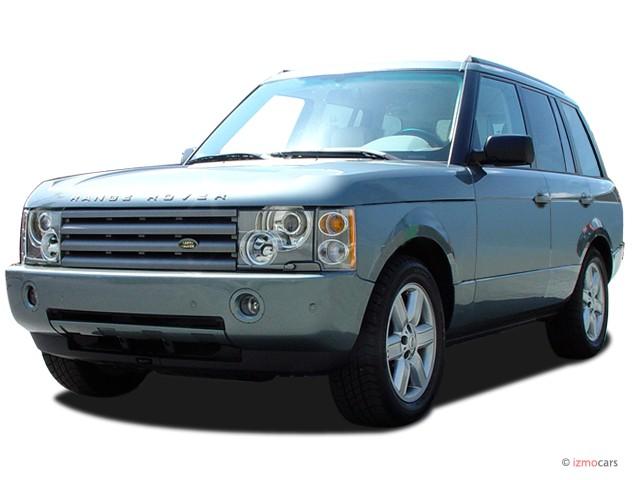 2003 Land Rover Range Rover 4-door Wagon HSE Angular Front Exterior View