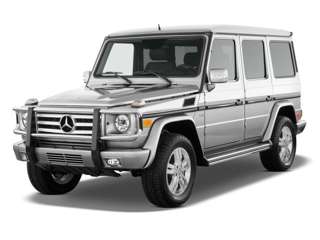2010 Mercedes-Benz G Class AWD 4-door 5.5L Angular Front Exterior View