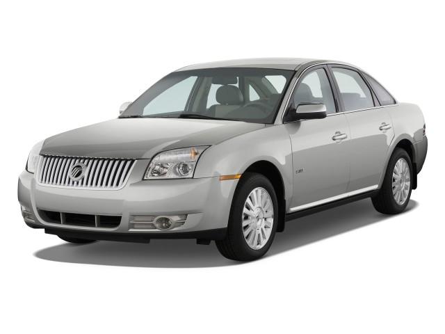 2009 Mercury Sable 4-door Sedan FWD *Ltd Avail* Angular Front Exterior View