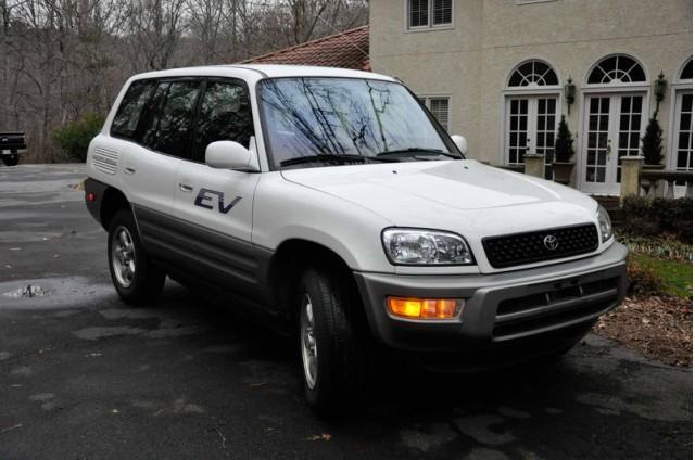 2002 Toyota RAV4 EV on eBay