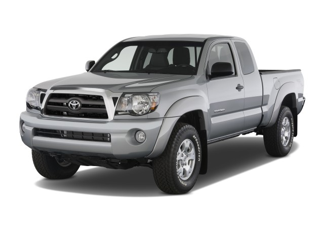 Angular Front Exterior View - 2010 Toyota Tacoma 2WD Access V6 AT PreRunner (Natl)