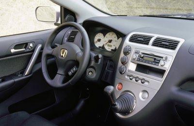 2002 Honda Civic Si interior