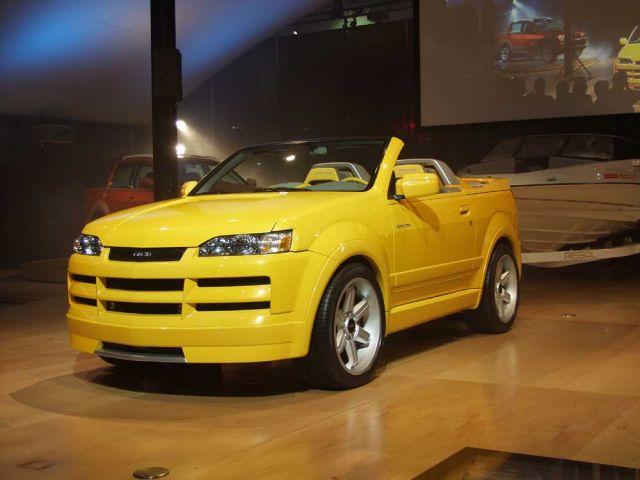 2002 Isuzu XSF concept
