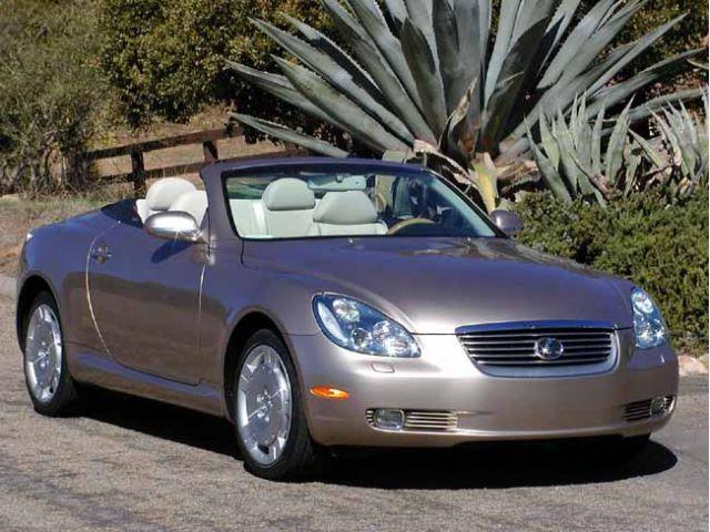 2002 Lexus SC 430