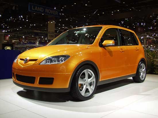 2002 Mazda 2 concept, Geneva Auto Show