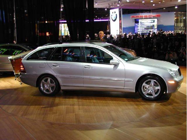 2002 Mercedes-Benz C-Class Wagon