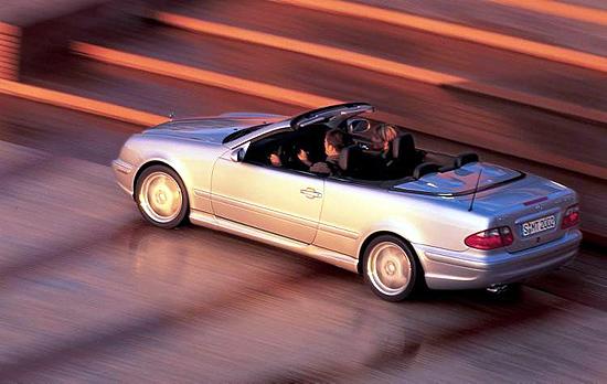 2002 Mercedes-Benz CLK55 Cabriolet