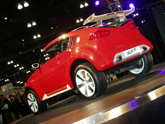 2002 Mitsubishi Montero Evolution Concept