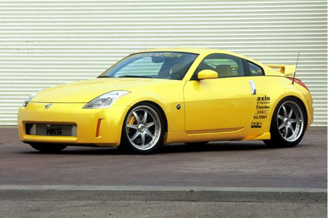 2002 Nissan Axis Sport Tuning 350Z concept