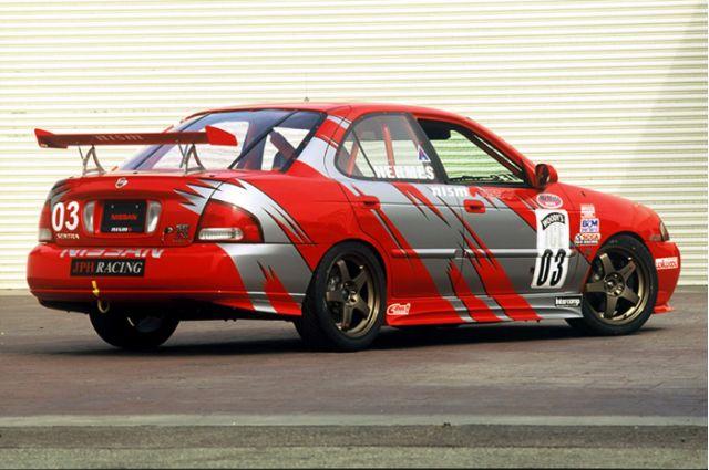 2002 Nissan SE-R Spec V Speed Channel World Challenge Race Car concept