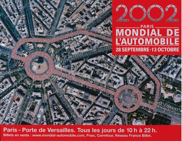 2002 Paris Auto Show logo