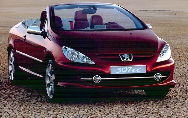 2002 Peugeot 307CC concept