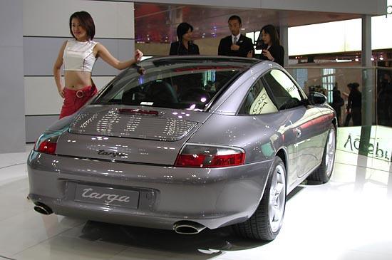 2002 Porsche 911 Targa Tokyo show