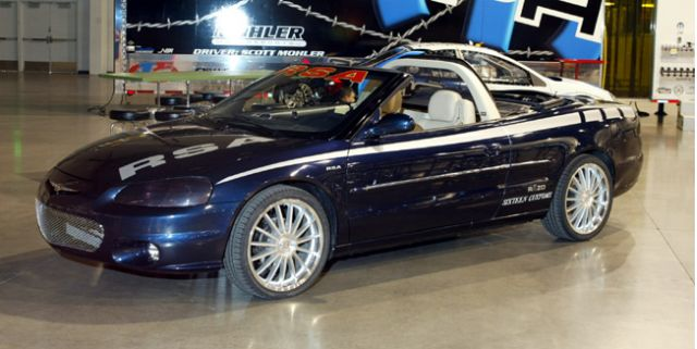 2002 Racing Sports Akimoto Chrysler Sebring Convertible Luxury Tuner concept