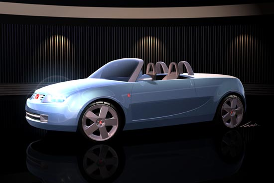2002 Saturn Sky concept convertible