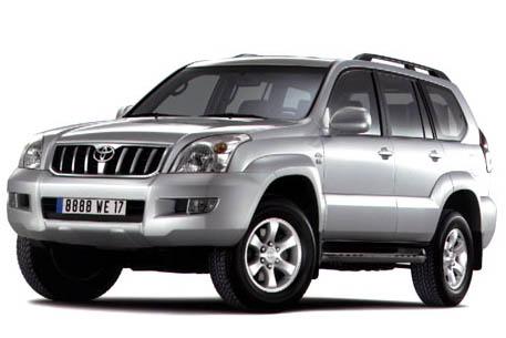 2002 Toyota Land Cruiser (Euro version)