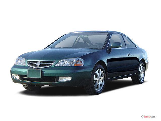 2003 Acura CL 2-door Coupe 3.2L Angular Front Exterior View