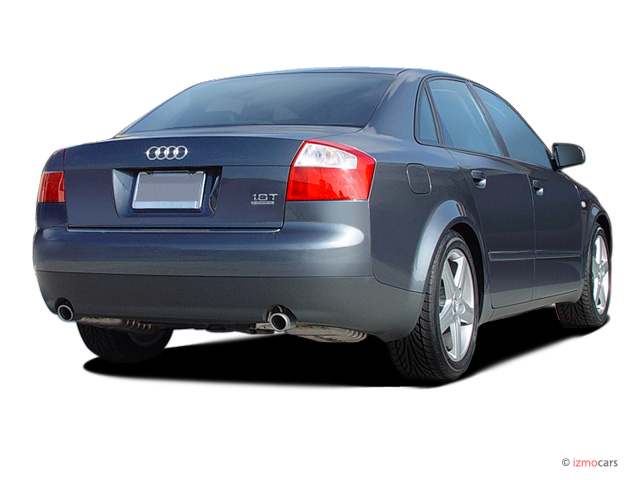 image 2003 audi a4 4 door sedan 1 8t quattro awd auto angular rear exterior view size 640 x. Black Bedroom Furniture Sets. Home Design Ideas