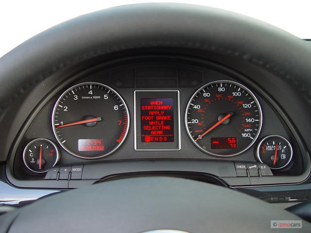 Image 2003 Audi A4 4 Door Sedan 1 8t Quattro Awd Auto Instrument Cluster Size 640 X 480 Type