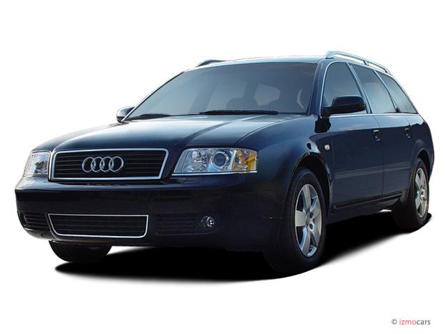 2003 Audi A6 4-door Wagon Avant 3.0L Angular Front Exterior View