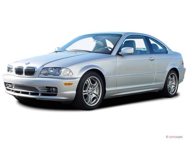 2003 BMW 3-Series 330Ci 2-door Coupe Angular Front Exterior View
