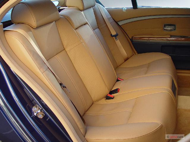 Image 2003 Bmw 7 Series 745li 4 Door Sedan Rear Seats