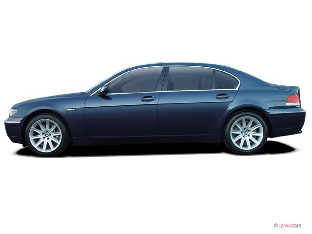 image 2003 bmw 7 series 745li 4 door sedan side exterior. Black Bedroom Furniture Sets. Home Design Ideas