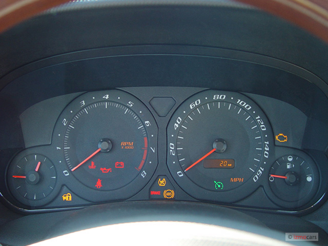 Image 2003 Cadillac Cts 4 Door Sedan Instrument Cluster