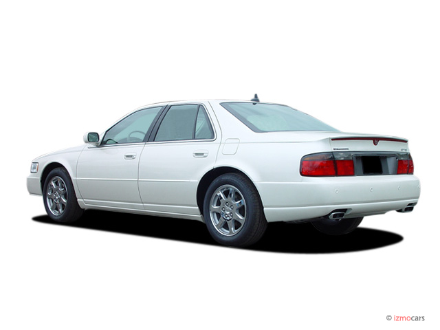 image 2003 cadillac seville 4 door touring sedan sts angular rear exterior view size 640 x. Black Bedroom Furniture Sets. Home Design Ideas