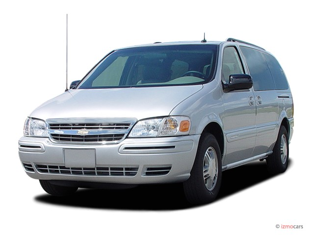 2005 Chevrolet Venture Ext WB Plus Angular Front Exterior View