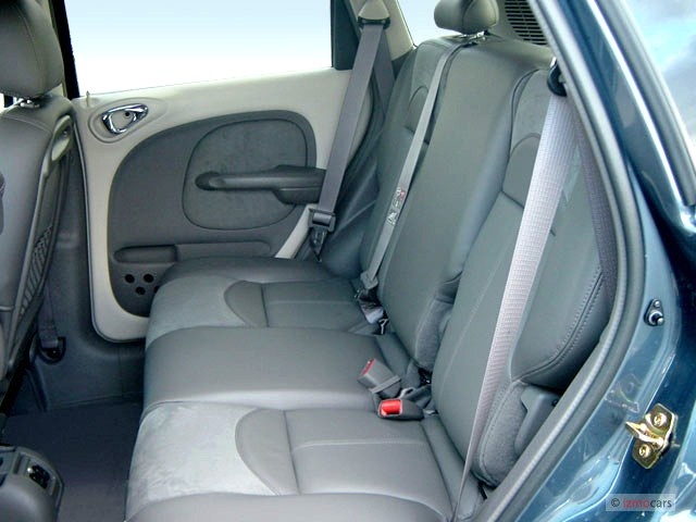 Image 2003 Chrysler Pt Cruiser 4 Door Wagon Gt Rear Seats