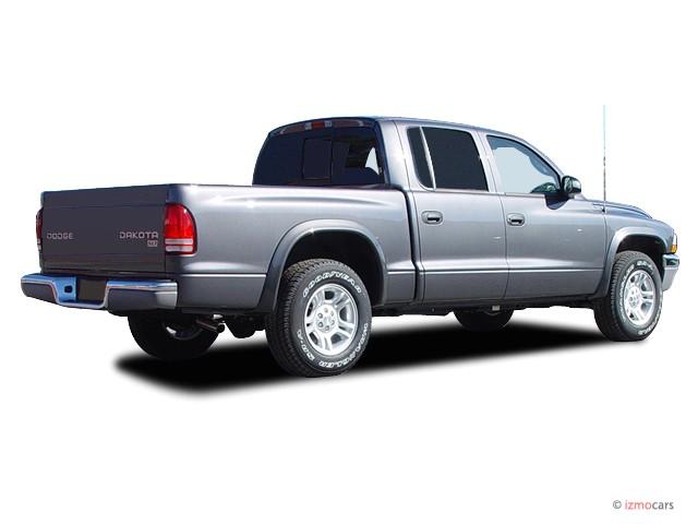 image 2003 dodge dakota 4 door quad cab 131 wb 4wd slt angular rear exterior view size 640 x. Black Bedroom Furniture Sets. Home Design Ideas