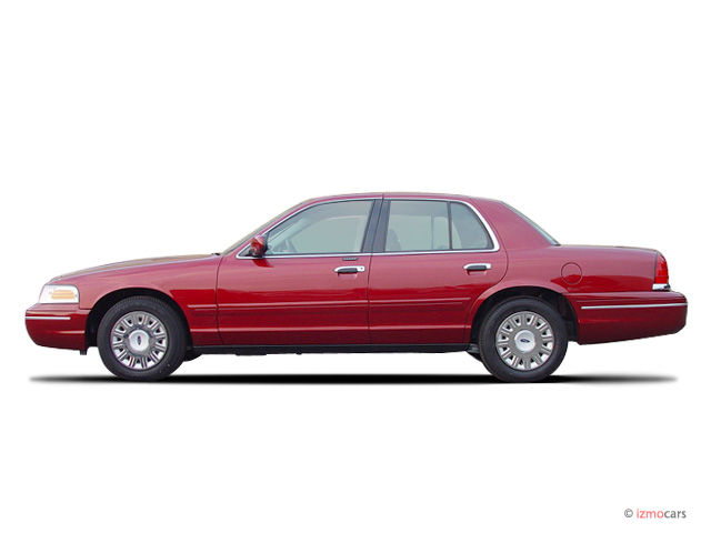 Image 2003 Ford Crown Victoria 4 Door Sedan Lx Side Exterior View Size 640 X 480 Type Gif
