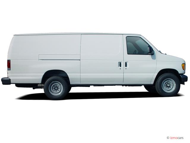 Image 2003 Ford Econoline Cargo Van E 350 Side Exterior