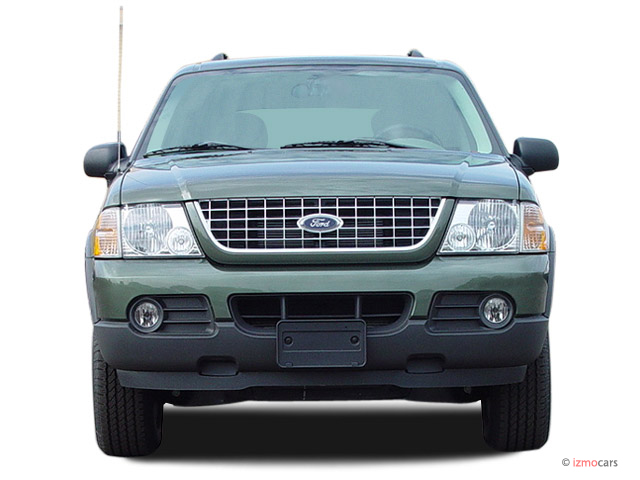 "2003 Ford Explorer 4-door 114"" WB 4.0L XLT Front Exterior View"