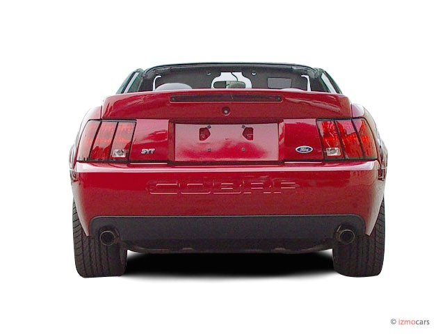 image 2003 ford mustang 2 door convertible svt cobra 10th anniv rear exterior view size 640 x. Black Bedroom Furniture Sets. Home Design Ideas