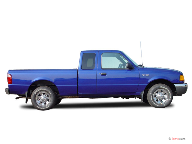 2003 Ford Ranger 2-door Supercab 4.0L XLT 4WD Side Exterior View