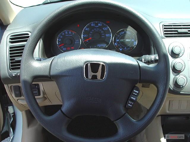 Image 2003 Honda Civic 4 Door Sedan Hybrid Manual