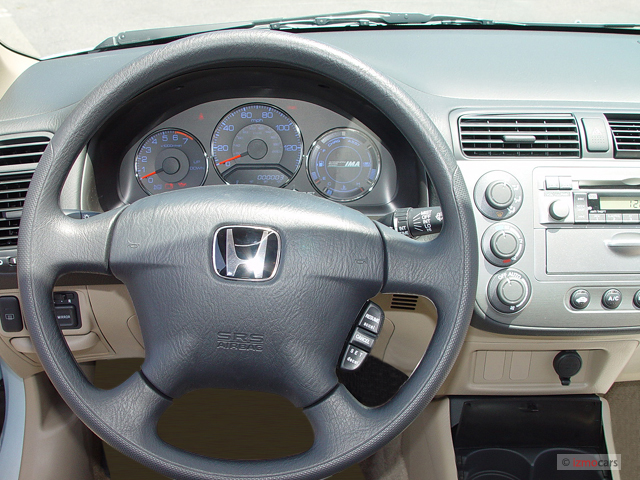 image 2003 honda civic 4 door sedan hybrid manual. Black Bedroom Furniture Sets. Home Design Ideas