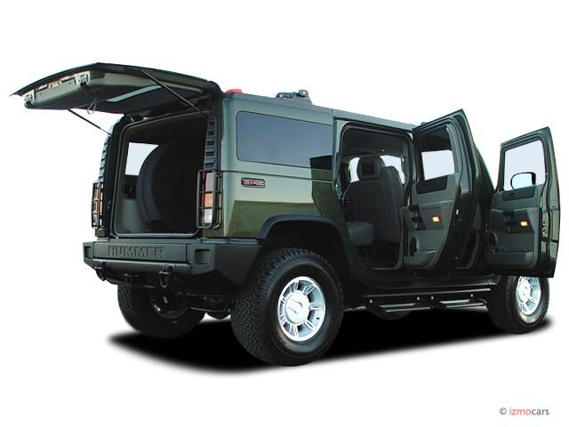 2003 HUMMER H2 4-door Wagon Open Doors