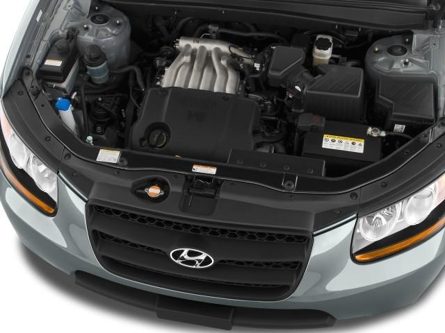 Image 2009 Hyundai Santa Fe Fwd 4 Door Auto Gls Engine