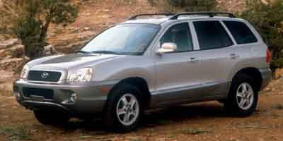 2003 hyundai santa fe review ratings specs prices and photos the car connection. Black Bedroom Furniture Sets. Home Design Ideas