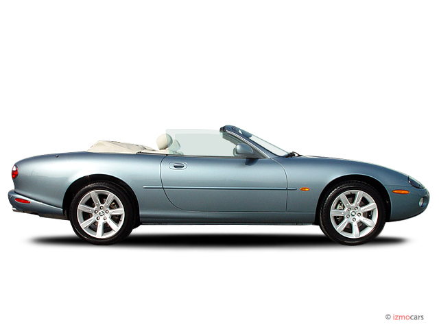2003 Jaguar XK8 2-door Convertible XK8 Side Exterior View