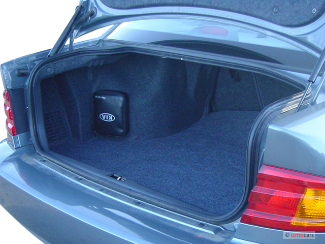 image 2003 kia optima 4 door sedan lx manual trunk size. Black Bedroom Furniture Sets. Home Design Ideas