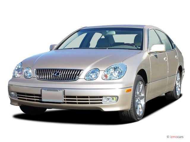 2003 Lexus GS 430 4-door Sedan Angular Front Exterior View