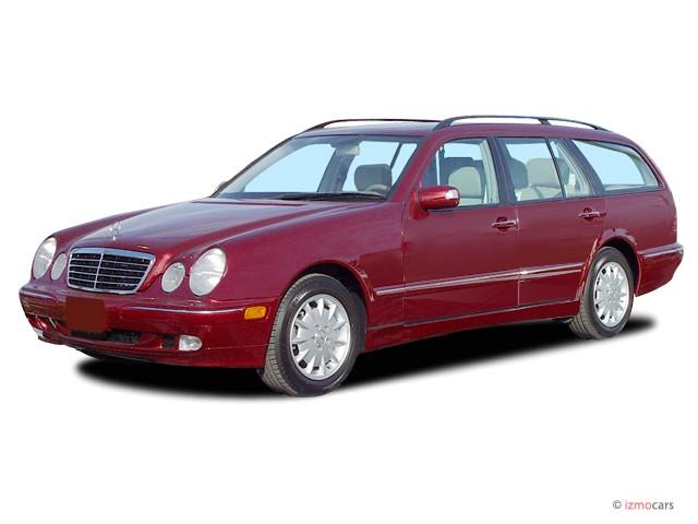 2003 Mercedes-Benz E Class 4-door Wagon 3.2L Angular Front Exterior View