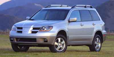 2003 mitsubishi outlander review ratings specs prices. Black Bedroom Furniture Sets. Home Design Ideas