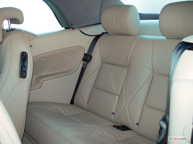Image 2003 Saab 9 3 2 Door Convertible Se Rear Seats