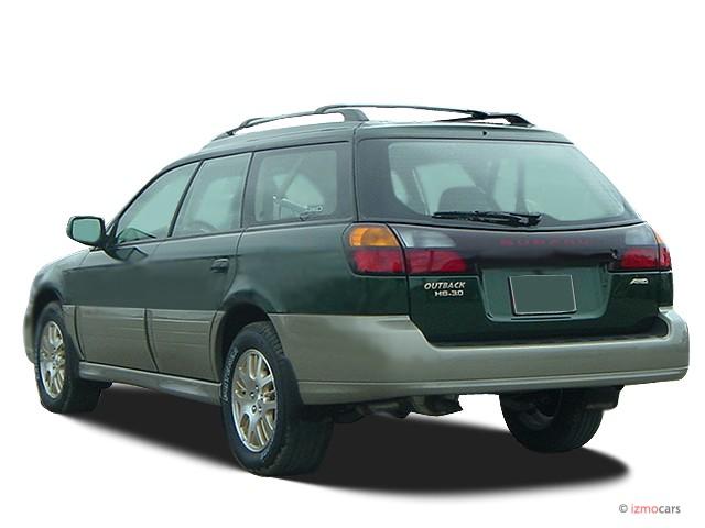 Brz Vs Wrx >> Image: 2003 Subaru Legacy Wagon 5dr Outback H6 L.L. Bean ...